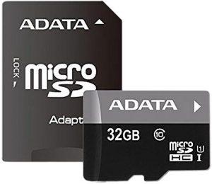 A-DATA UHS-I MicroSDHC 32GB class 10 + adapter