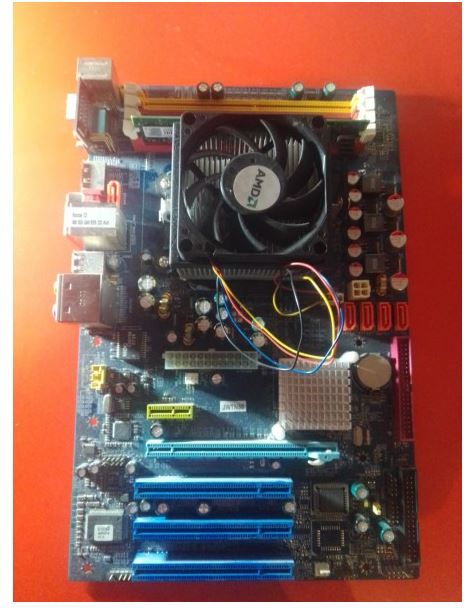 Matična ploča J&W N56 + procesor AMD + Memorija DDR2